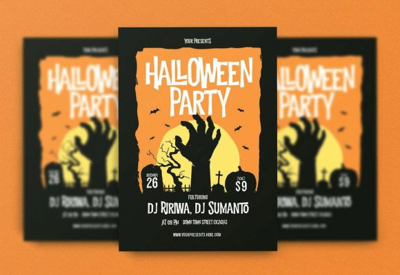 20+ Best Halloween Flyers PSD Templates
