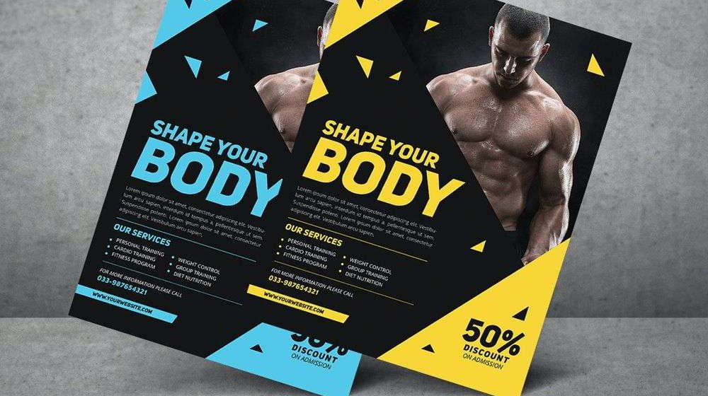 15+ Creative Fitness Posters and Flyers